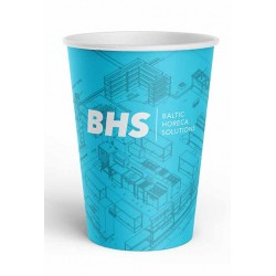 Single wall paper cup 220ml BHS