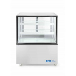 Refrigerated display cabinets with 2 slanted shelves 300L