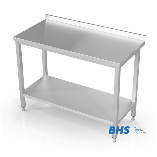 Metaliniai stalai su lentynomis