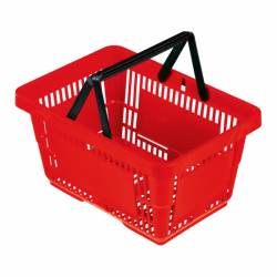 Shopping basket AIRPORT with 2 handle