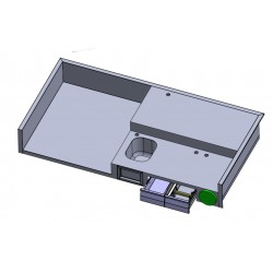 Projects - work surface with sink