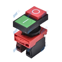 Double Push-button NC, NO red, green ON-OFF Highly HPB22-D11