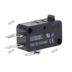Snap switch; ON-(ON) nonfixed; 3pins; 10A/250VAC, SPDT 27.8x10.3x15.9mm, 10mm connector; without lever HIGHLY