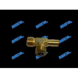 Adjustable L fitting 8-M12-M12 bs