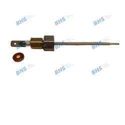 Level probe with o-ring + Flat seal 3.4/10.5x2 Cu