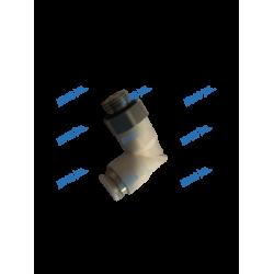 Screw-in elbow fitt. G1/8 Inox-4 PPSU