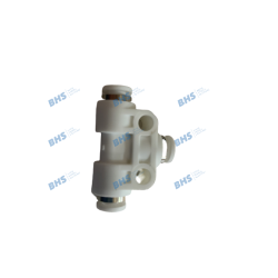 T plug-in connection 4-4-4 PVDF