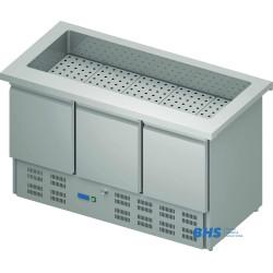 Aukstais marmīts 1465 mm ar ledusskapi