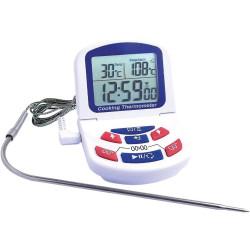 Digitalinis termometras su plomba 0/ 300