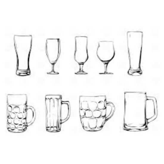 Alaus stiklinės
