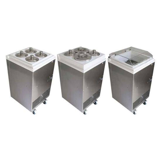 Įranga ledų saugojimui