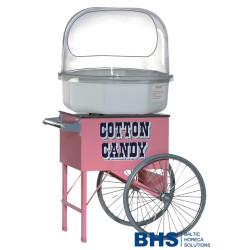 Vežimėlis saldžios vatos mašinai