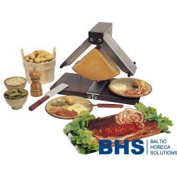 Raclette grilis su šildytuvais