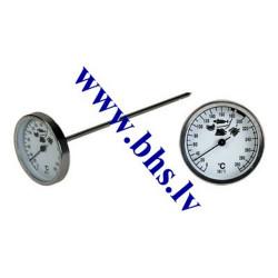 Termometras su nustatymų kada produktas gatavas 0-300
