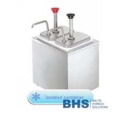 Dispenseri ar izolāciju ar 2 pumpjiem