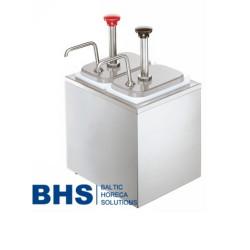 Dispensers ar 2 pumpjiem