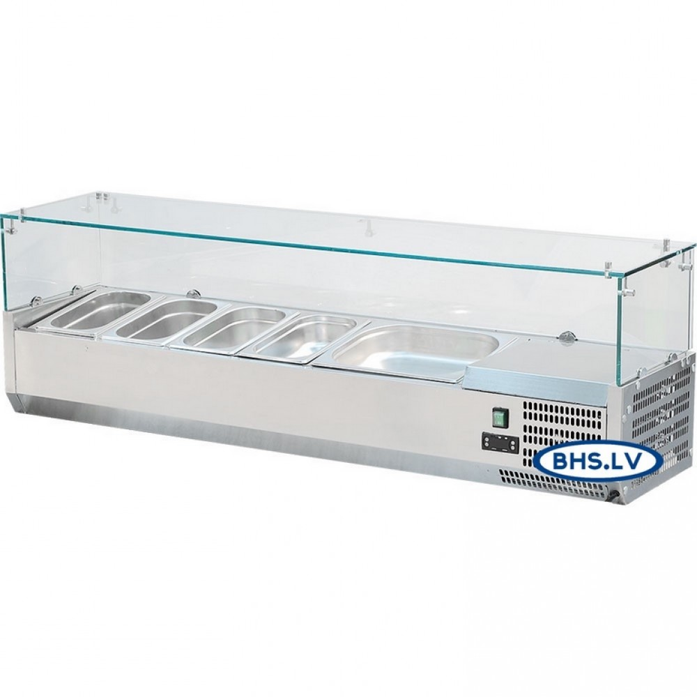Šalta vitrina 1200 mm