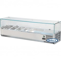 Šalta vitrina 1800 mm