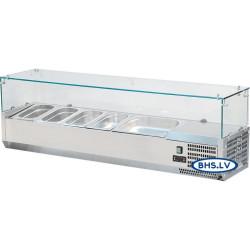 Šalta vitrina 1600 mm