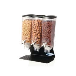 Sausų pusryčių dispenseris 3x3.8 litrai