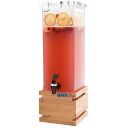 Gėrimų dozatorius 7,5 l su bambuko padėklu