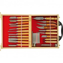 Carving set 22 elements
