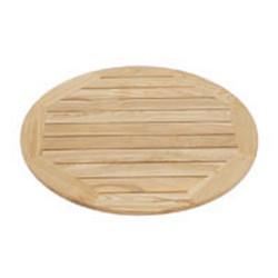 Medinis stalo paviršius D-70 cm