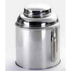 Metaline dėžutė arbatui