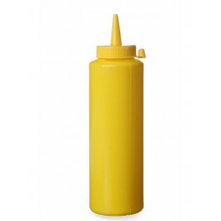 Dispenser for sauces 200 ml, yellow