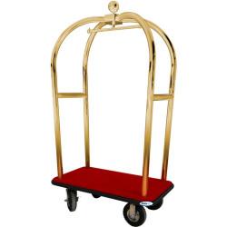 Bagažo vežimėlis su pakaba PV2021