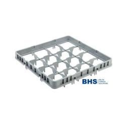 Viršutinis indų stalčius/krepšelis 16 elementai AMER BOX