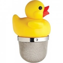 Floating tea ball Rubber Duck